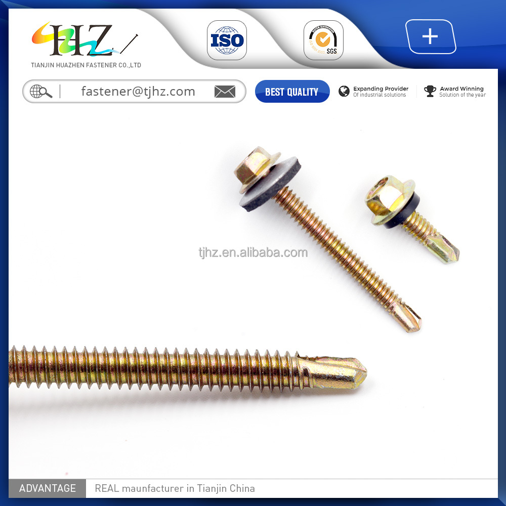 DIN7504k High Quality and Cheap Price wing teks thread type self drilling <strong>screw</strong>