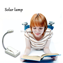 2014 new innovative products fashion wholesale solar powered reading lamp