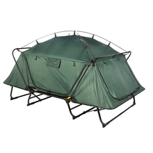 Double 2 person sleeping camp rite waterproof outdoor bed cot tent