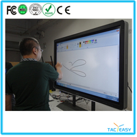 Special TV&PC, touch screen pc all in one with 4 users writing