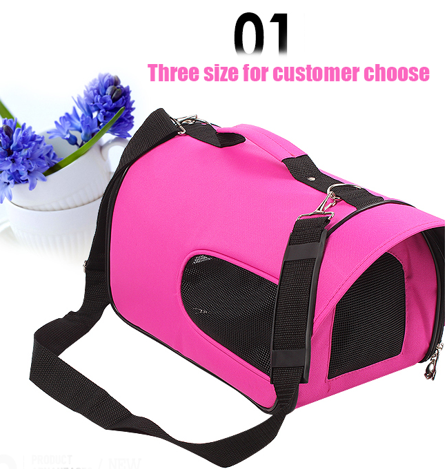 Fashion mesh breathable pet carry bag for dog since 1997