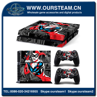 hot selling cheap console controller accessories skin sticker for ps4