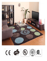 waterproof exhibition customized carpet floor tile