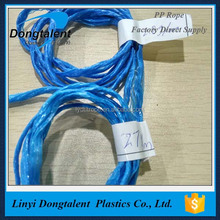 High quality pp packing rope high tensile strength pp string at low price