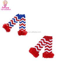 USA Chiffon Ruffle Tutu Christmas Holiday Winter Party Styles Leg Warmers One Size chevron ruffle baby leg warmers Christmas