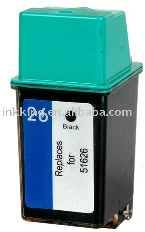 Remanufactured Inkjet Cartridge compatible for HP 26(51626)