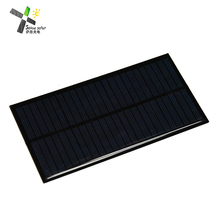 factory price tempered glass 2w 3w 5w 10w mini solar panel 5v 6v 12v frameless solar power module with copper wire connector