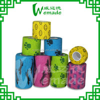 Hot-sale/ best offer/top quality Elastic Cohesive/ self-adhesive animal Printing Bandage