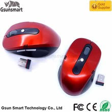 WM-07 6D Changeable CPI Nano USB 2.4g Wireless Optical Mouse Driver with 10m Working Distance for Computer