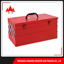 3-layer us general suitcase auto repair automotive steel uni tool box