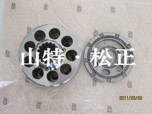 PC400-7 hydraulic pump spare parts, sub piston 708-2H-33311, cylinder block 708-2H-04750/ 708-2H-04760