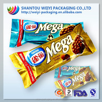 custom printing food packaging plastic packing bags for frozen snacks