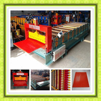 Automatic Corrugated Sheet Pasting Machine Color Steel Wall Panel Cold Roll Forming Machines