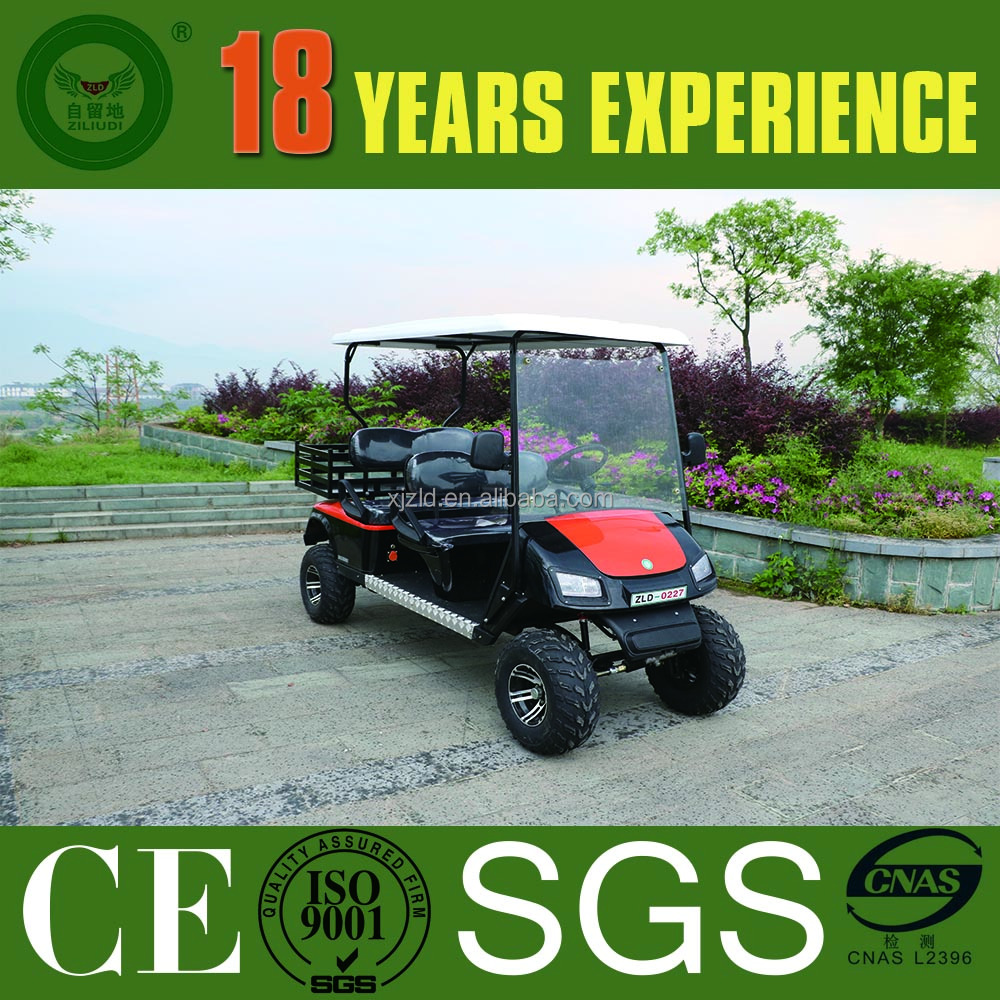 chinese 4 wheel drive electric golf cart and golf hunting buggy parts