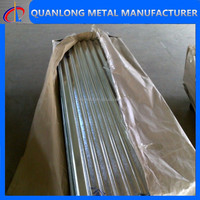 corrugated steel zinc house roofing tiles