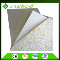 Greenbond colorful stone coated metal roofing aluminum composite sheet