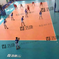 Factory Wholesale Price 8.0mm Thick Non Slip Outdoor Volleyball Court Flooring