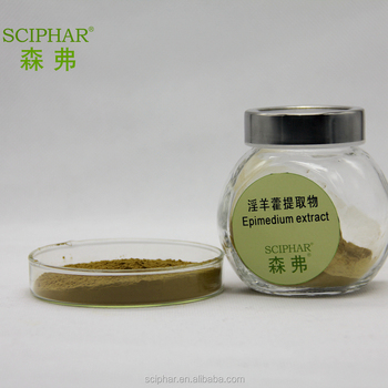 Men Sex Power Medicine Pure icariin Powder from Epimedium Extract