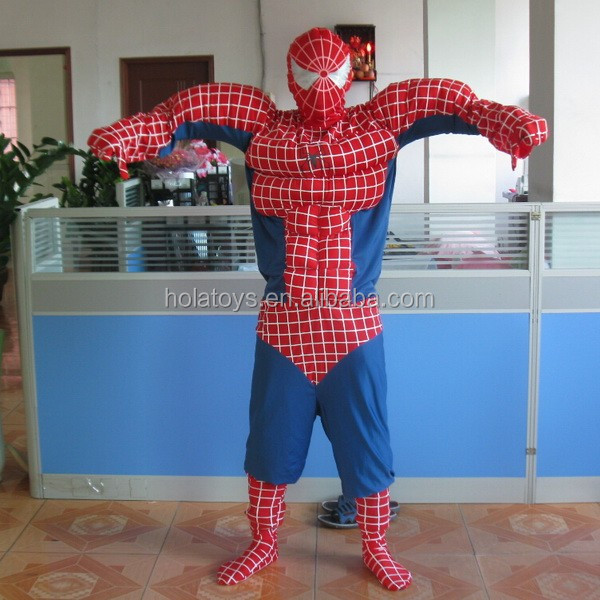 Hola famous spiderman costume/movie mascot