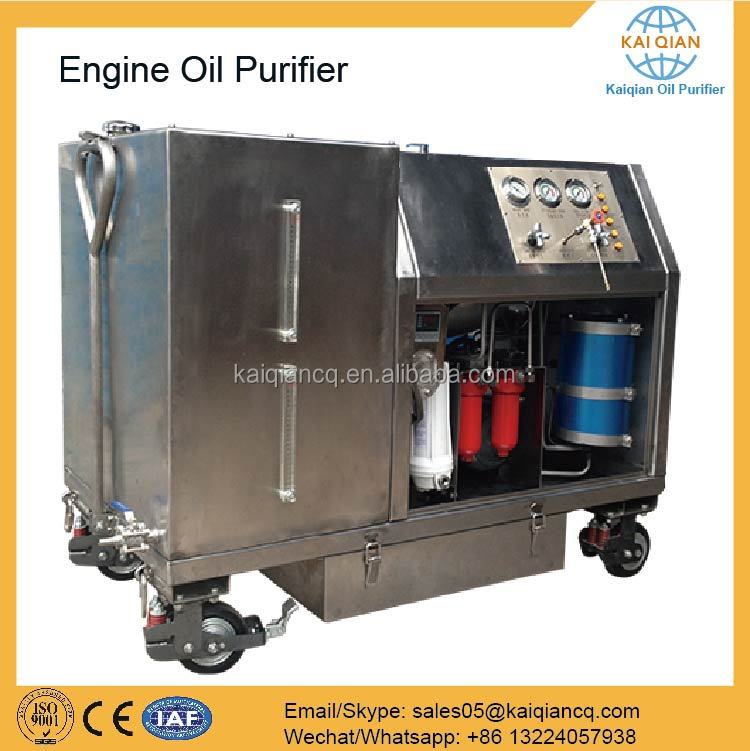 Energy Saving Used Ship Engine Oil Purification