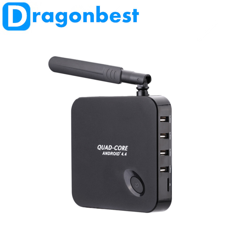 Dragonbest Rockchip 3128 Quad-Core F6 Android 4.4 TV box 1.3GHZ 1G/8G XBMC DLNA Wi-Fi 3D Better than CS918 MX Smart tv box