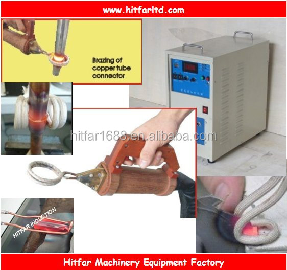 15KW Portable Induction Brazing/Welding Machine for copper tubes/joints