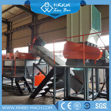 PE/PP Waste Film plastic recycling equipment/plastic washing line