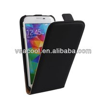 Black Mobile Phone Leather Case Cover for Samsung Galaxy S5 i9600 Case