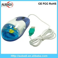 computer accessories hot selling Promotional Advertising Aqua Computer liquid Mouse