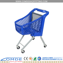The mini metal Kids trolley shopping cart for children