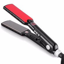 Professional ceramic 1.5 inch wide plates hair straightener flat iron