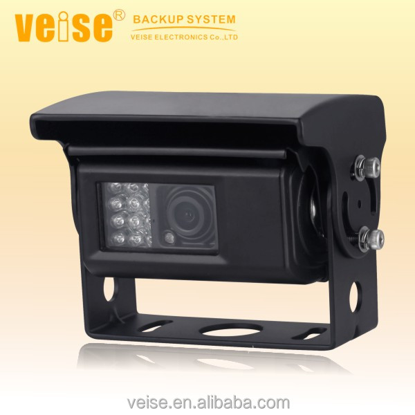 Large recreation vehicle waterproof auto shutter camera with heating