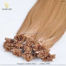 Hot Selling No Tangle No Shedding Directly Factory Price 100 Cheap Remy U Tip Hair Extension Wholesale