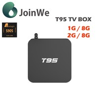 T95 kodi 16.0 google tv box amlogic S905 Google Android 5.1 OS frequency 2.0G set top box