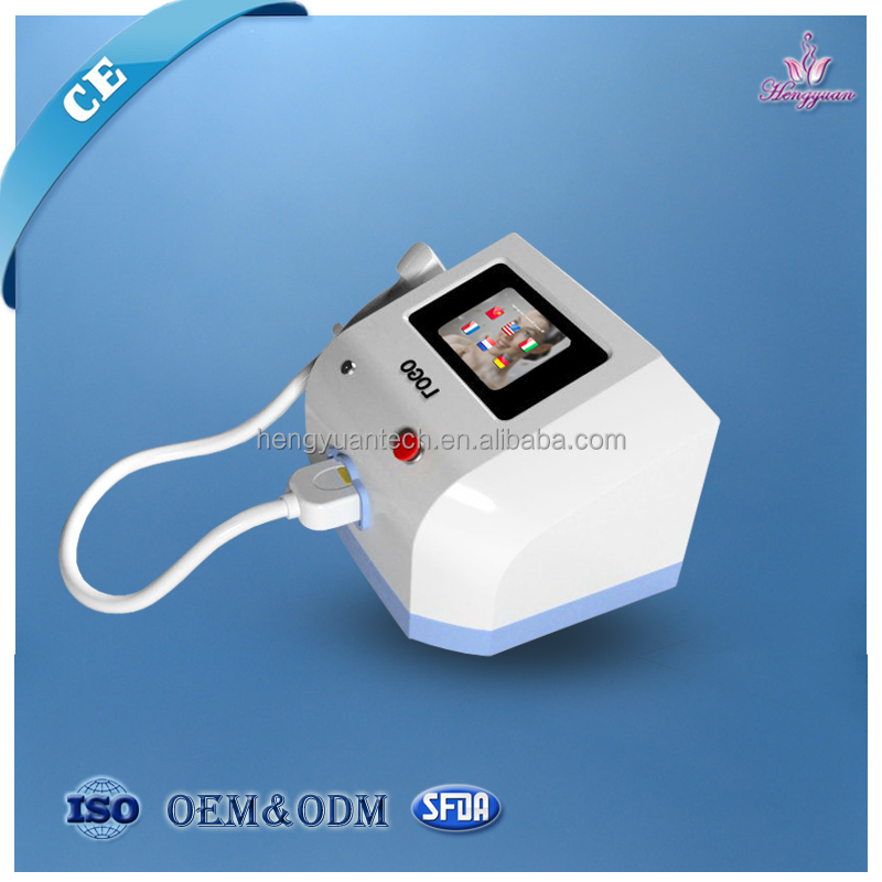 Mini laser machine for hair renoval with wavelength 808nm