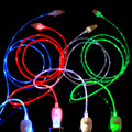 colorful micro led usb cable made in China