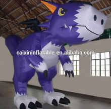 Hot customized giant advertising inflatable pokemon/ inflatable dragon/ inflatable charizard