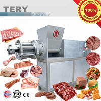 High efficiency low temperature meat bone separator machine for making salami