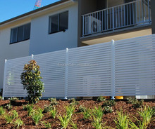 Multiple choice metal garden fence panels
