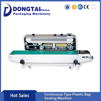 Professional Plastic Bagged Continuous Sealing Bag Making Machine