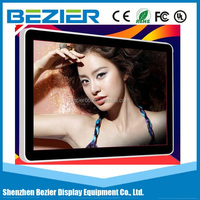 2015 China new bus 3g wifi download video totem monitor