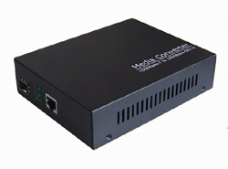 10 <strong>100</strong> 1000M power AC 220V SFP Fiber Media Converter