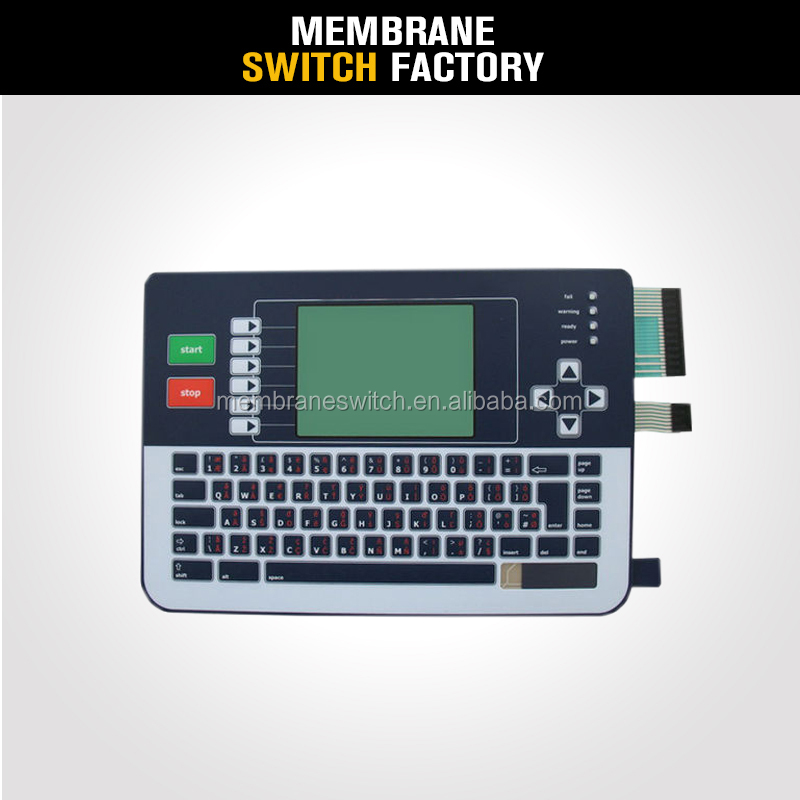 professional laptop keyboard membrane large membrane switch
