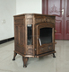 China factory direct hot selling cast iron heating stove BSC335-2