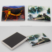 Customized Design Postage Stamp Shaped Ceramic