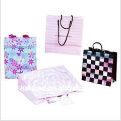 High-quality clear PP /PVC plastic shopping handbags