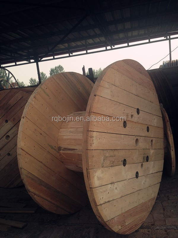 empty packaging large power wood cable reel of wire winder weight