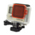 action cam accessories plastcik material gopros 4 filter for gopros 4 /3+