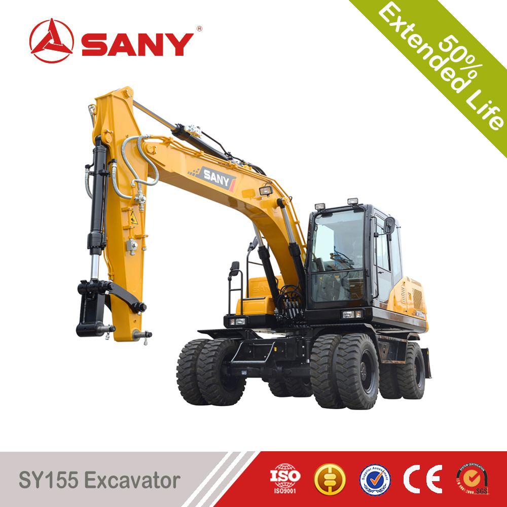 SANY SY155 15 Tons Small Excavator Small Earth Moving Equipment
