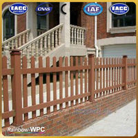 Waterproof Composite Wood WPC Fence